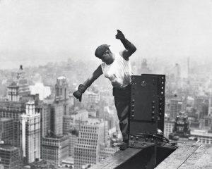 Occupational safety in the construction of the Empire State Building was almost non-existent
