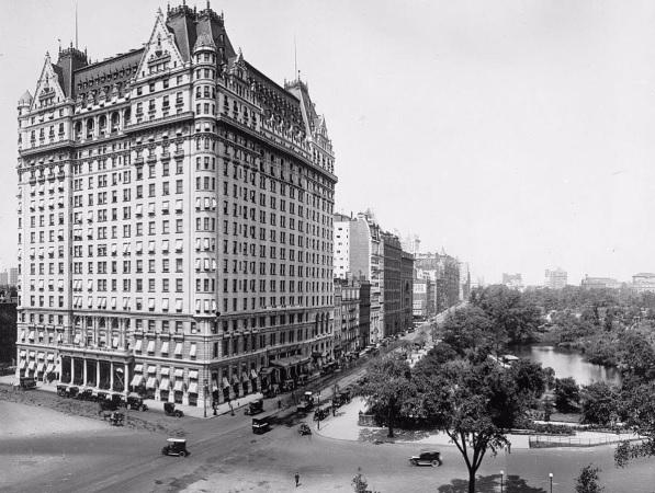 Plaza hotel, first penthouse in history.